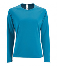 SOL'S Ladies Sporty Long Sleeve Performance T-Shirt