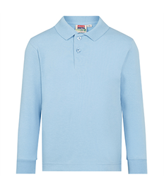 David Luke Eco Long Sleeve Pique Polo Shirt