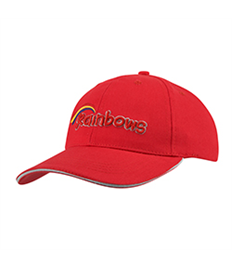 David Luke Rainbow Baseball Cap
