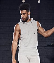 AWDis Cool Urban Sleeveless Muscle Hoodie