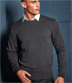 Premier Cotton Rich Crew Neck Sweater