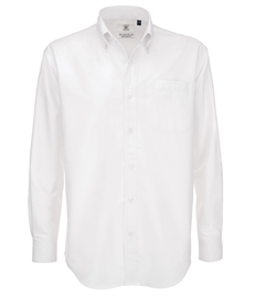 B&C Men's Oxford Long Sleeve Shirt