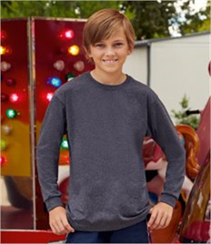 Fruit of the Loom Kids Long Sleeve Value T-Shirt