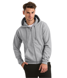 B&C ID205 50/50 Full Zip Hooded Sweat