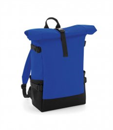 BagBase Block Roll-Top Backpack