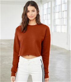 Bella Ladies Cropped Sweatshirt