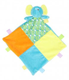 Mumbles Comforter with Rattle