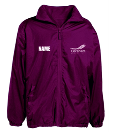 Corsham Hockey Burgundy Jacket