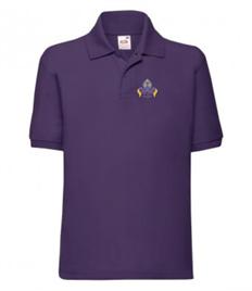 Abbot Alphege Polo Shirt Purple