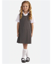 St Stephen's Lynton Pleated Pinafore Dress