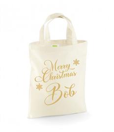 Personalised Christmas Mini Gift Bag