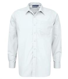 Leckhampton Boys L/S White Shirt (twin pack)