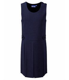 Tenby Double Box Pleat Pinafore