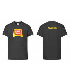 Main Stages T-Shirt (Adult Size) + NAME