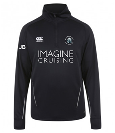 RWB Canterbury 1/4 Zip Mid Layer Top with Initials