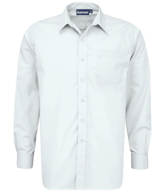 St Bernadette Boys Long Sleeve Shirt Collar 11-14