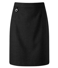 Trinity Amber A Line Skirt (Black)