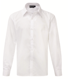 LWC Boys Slim Fit White Shirt (Twin Pack) Size 14.5' to 16'