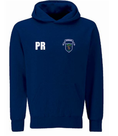 Burbage Hoody For PE - WITH INITIALS