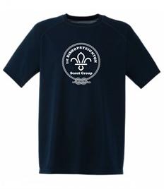 Bishopsteignton Scout Performance T-Shirt: Age 5 - 13