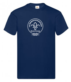 Bishopsteignton Scout Cotton T-Shirt: Age 14 - Adult XXL