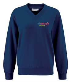 St Mary's V-Neck Sweatshirt