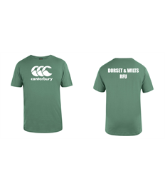 D&W Canterbury Warm Up T-Shirt