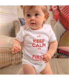 Personalised Christmas Baby Grow