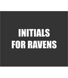 INITIALS FOR RAVENS