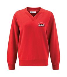 Crondall V-Neck Sweatshirt