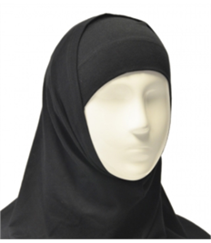 St Michael's Black Hijab