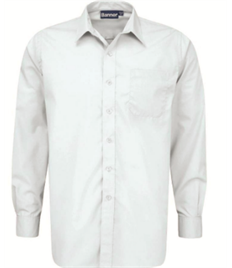 LWC Boys White Shirt (Twin Pack) Size 14.5' to 16.5'