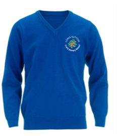Long Sutton V Neck Jumper
